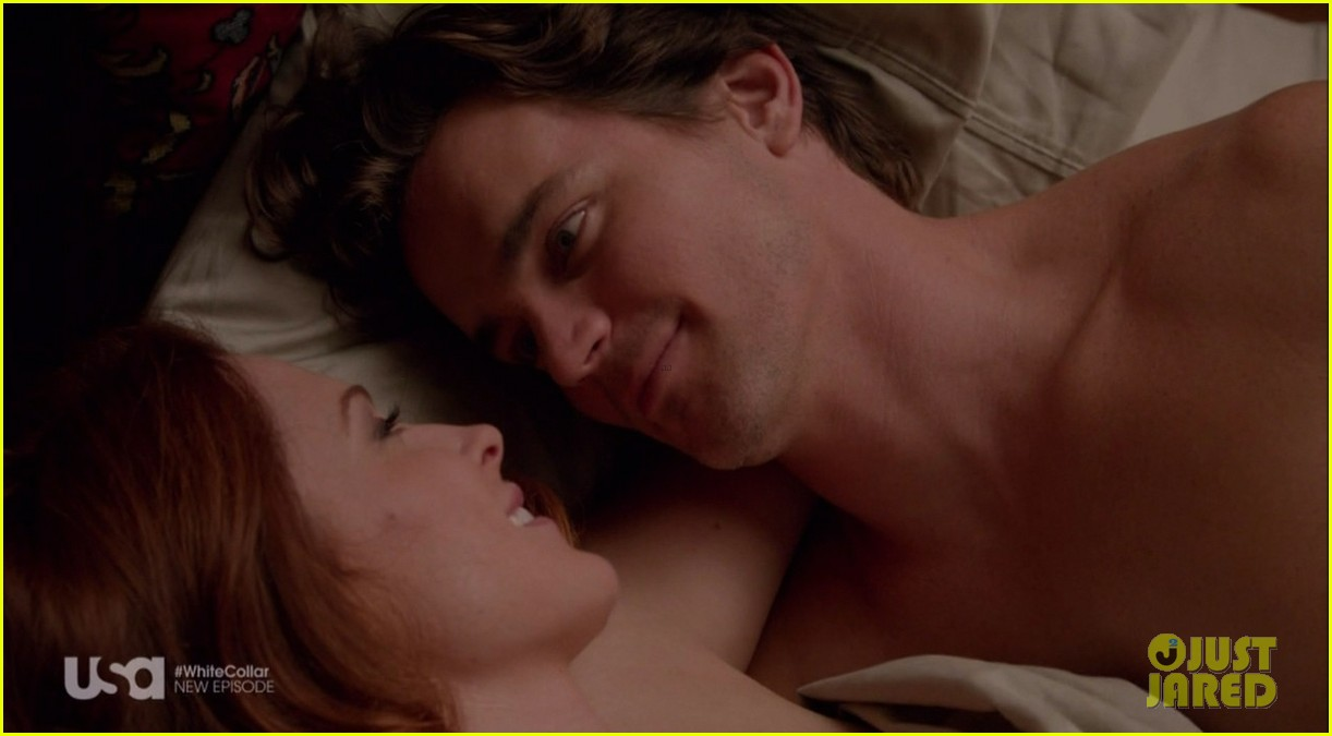 matt bomer shirtless sexy in recent white collar episode 04