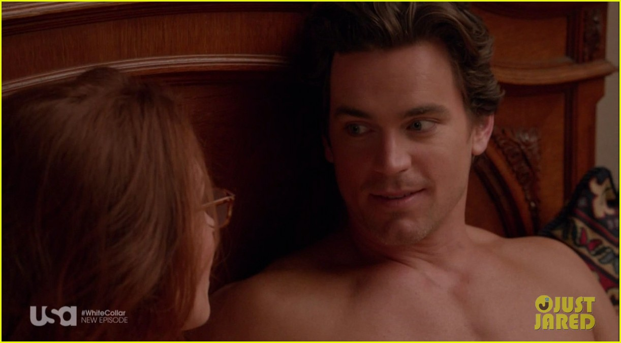 matt bomer shirtless sexy in recent white collar episode 103022941