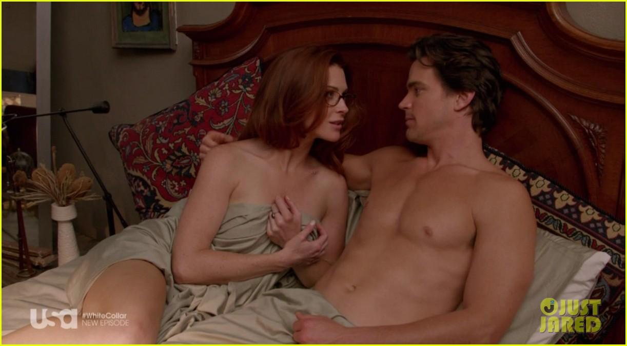 matt bomer shirtless sexy in recent white collar episode 123022943