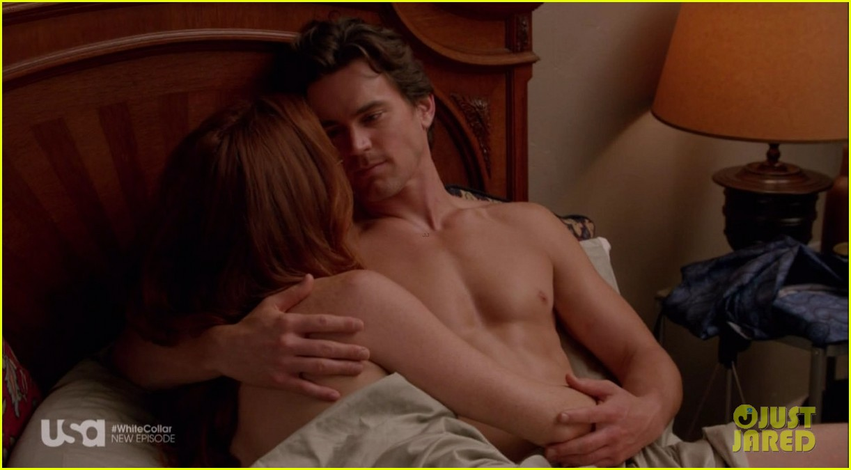 matt bomer shirtless sexy in recent white collar episode 133022944