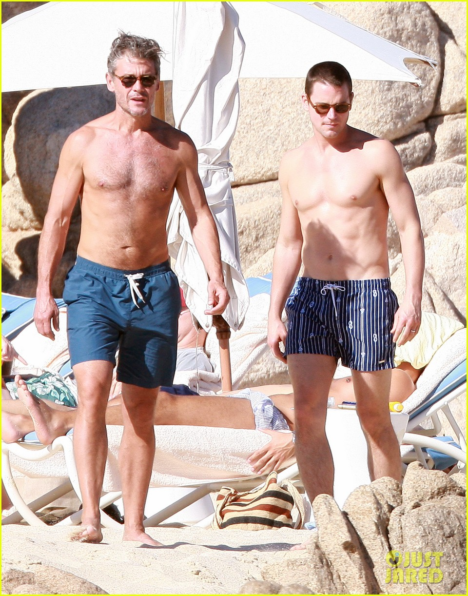matt bomer shirtless sexy cabo vacation with simon halls 033035164