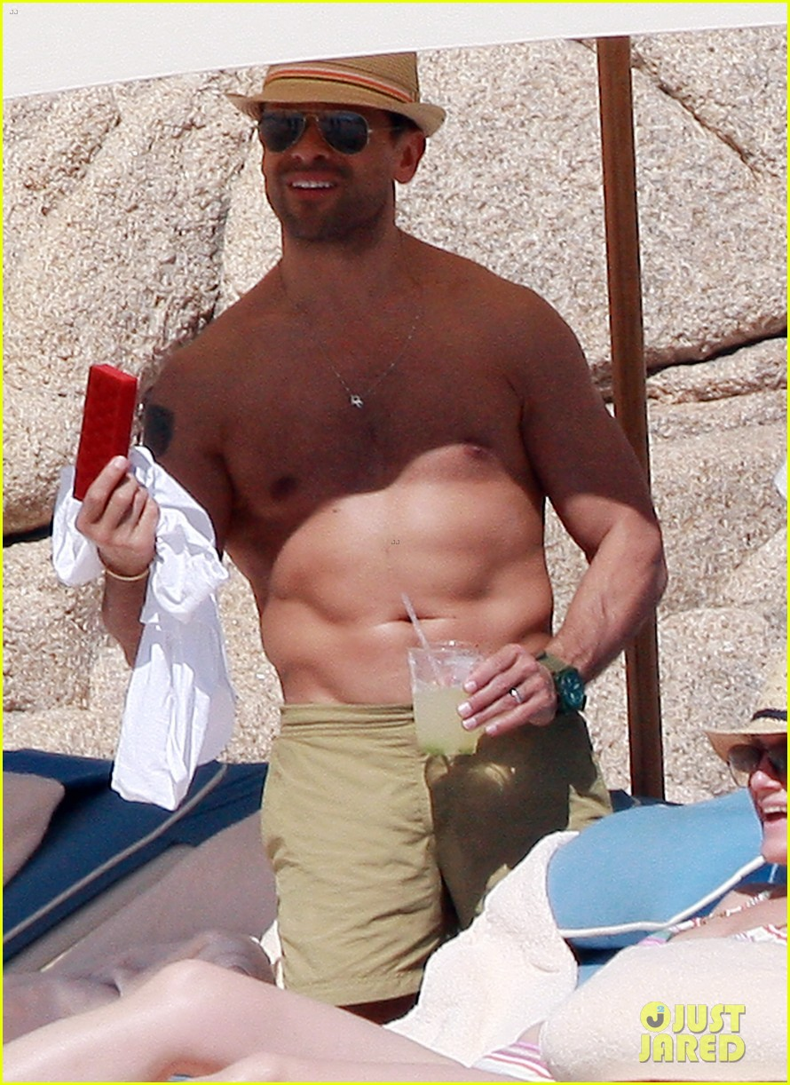 matt bomer shirtless sexy cabo vacation with simon halls 143035175