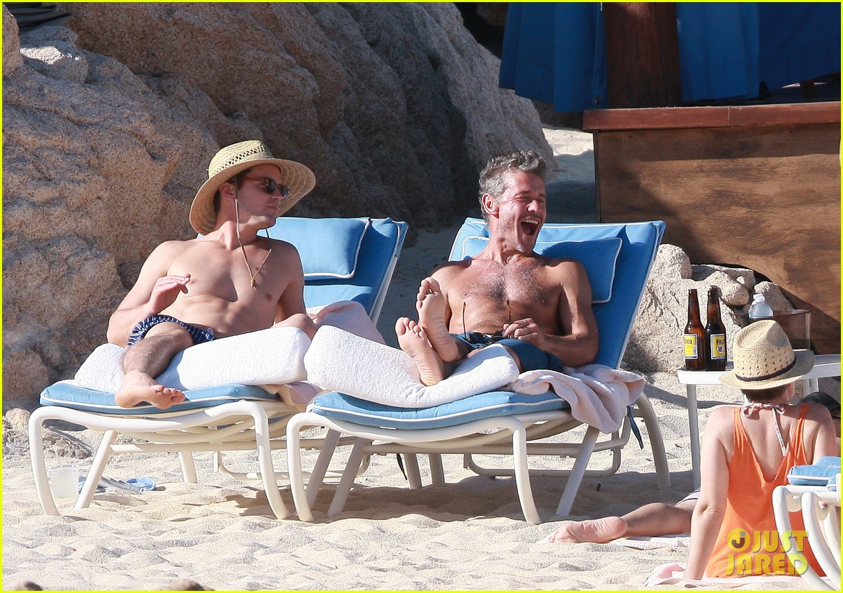 matt bomer shirtless sexy cabo vacation with simon halls 263035187