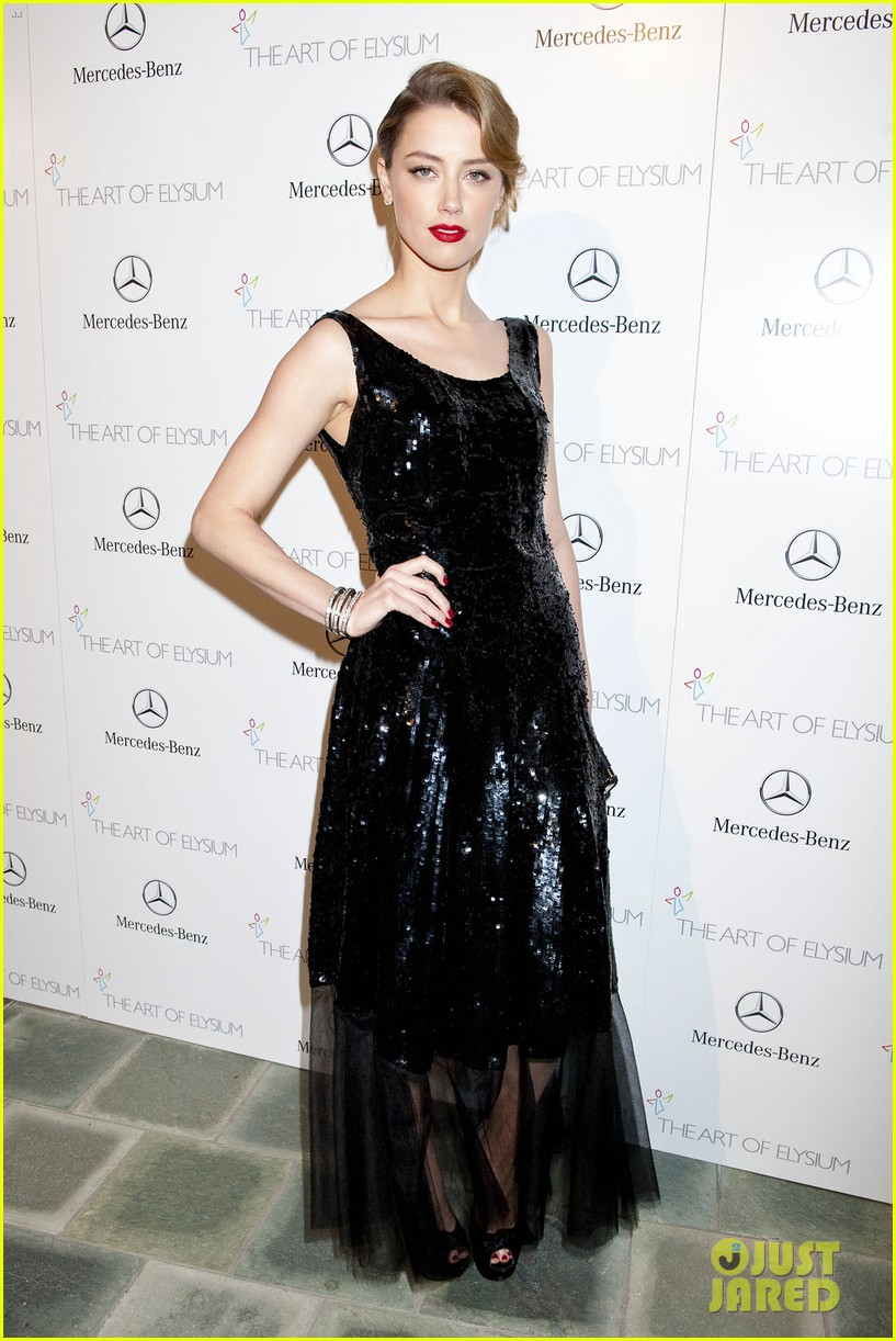 kate bosworth amber heard art of elysium heaven gala 2014 223028431