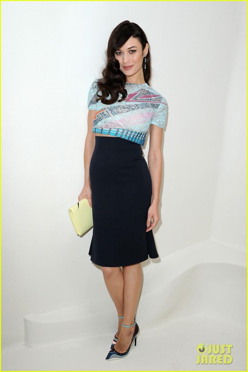 kate bosworth olga kurylenko christian dior paris fashion show 063036330