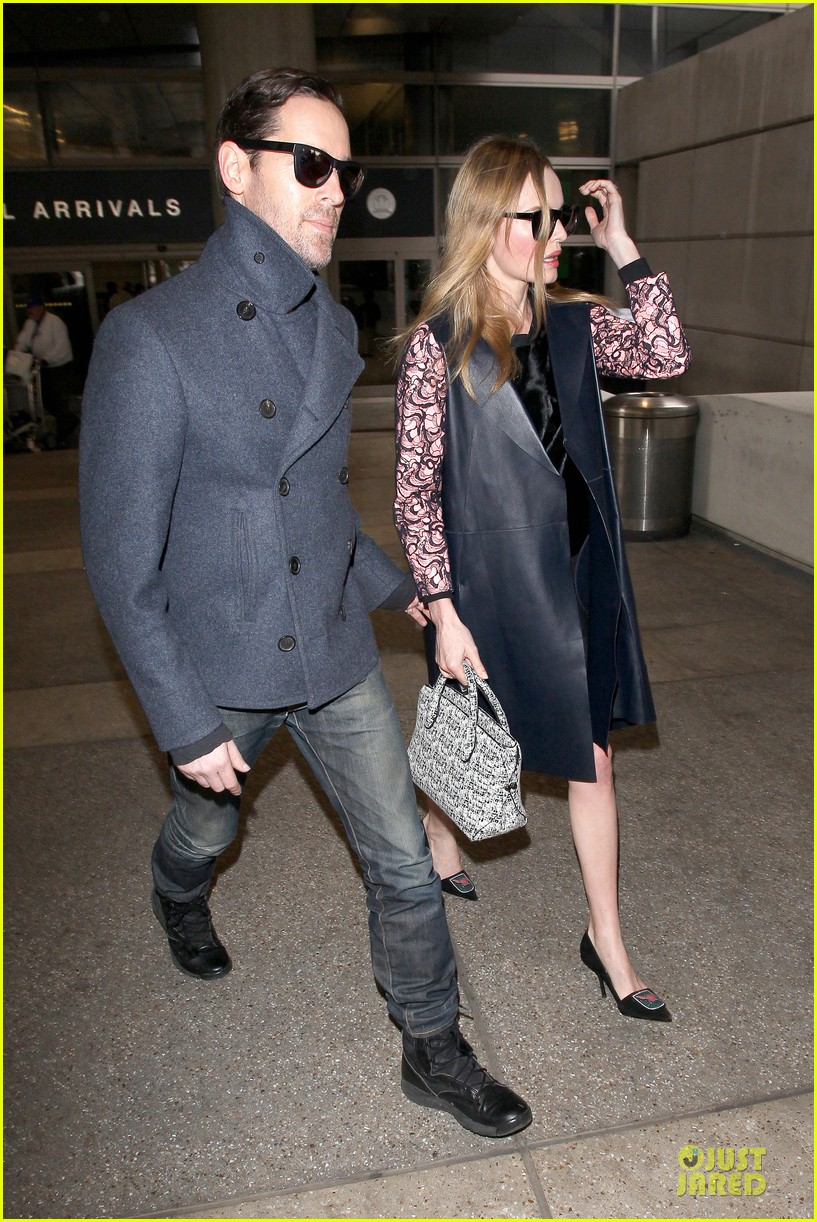 kate bosworth international landing at lax 14