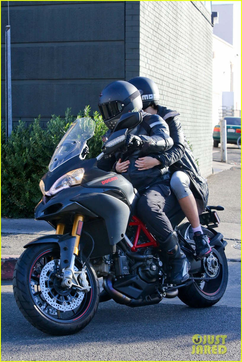 bradley cooper birthday motorcycle ride suki waterhouse 03