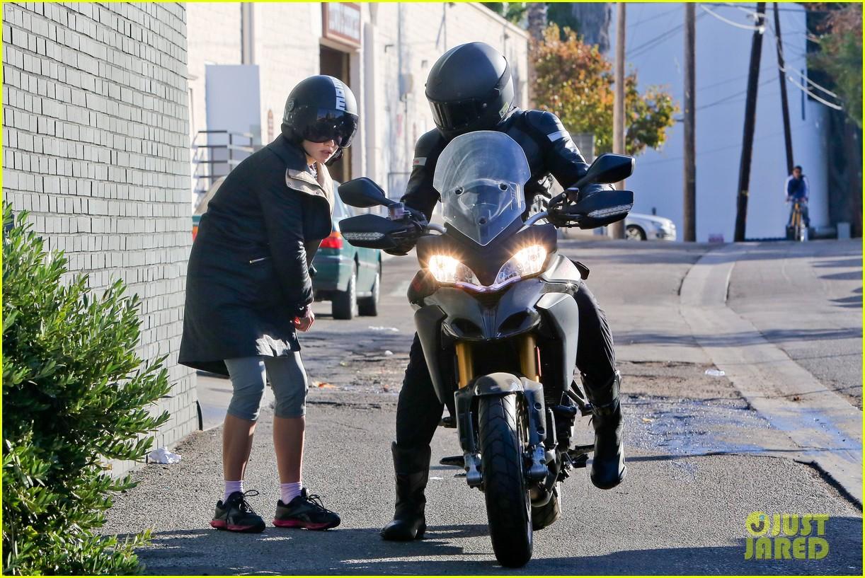 bradley cooper birthday motorcycle ride suki waterhouse 083023168