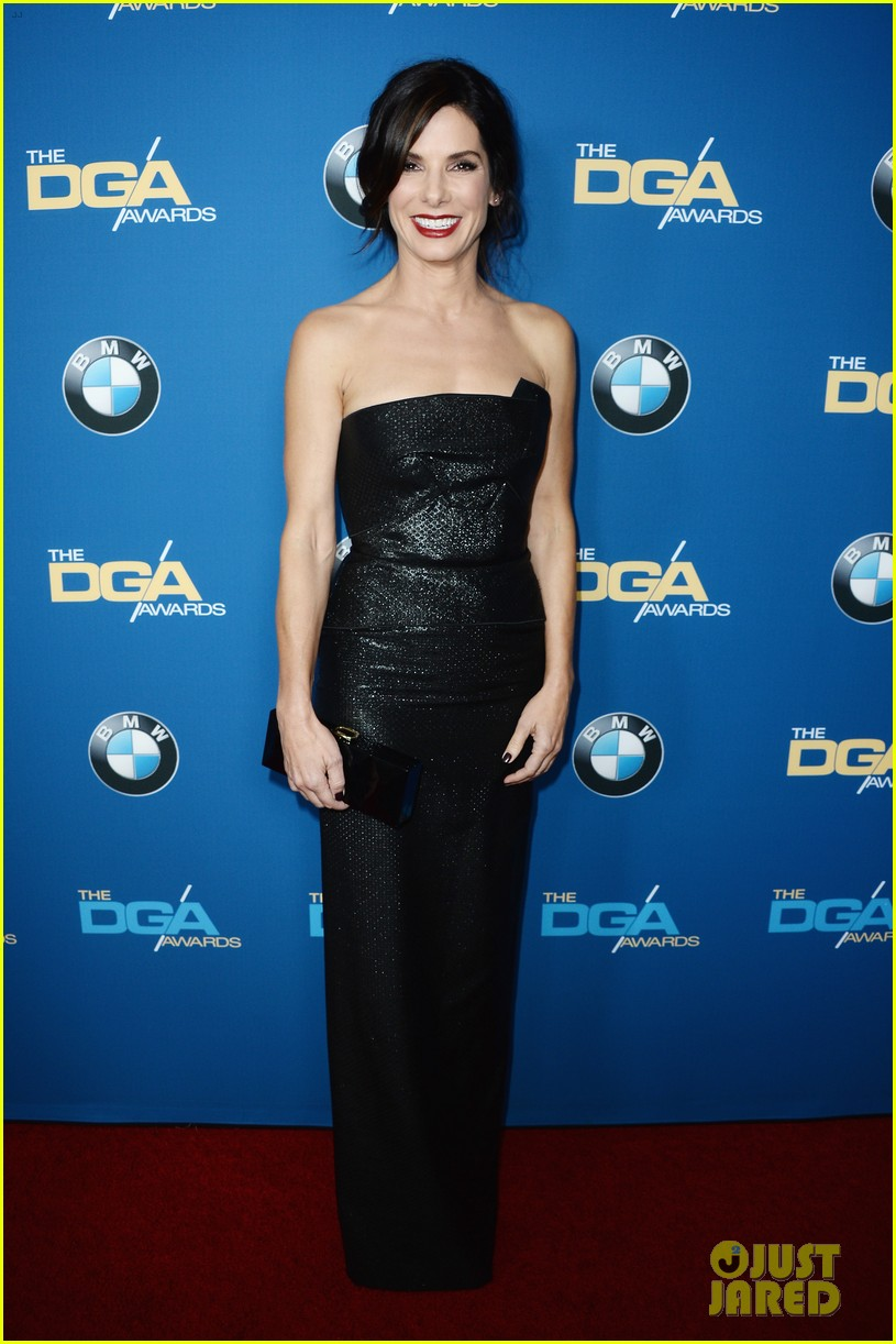 sandra bullock supports alfonso cuaron at dga awards 2014 013040271