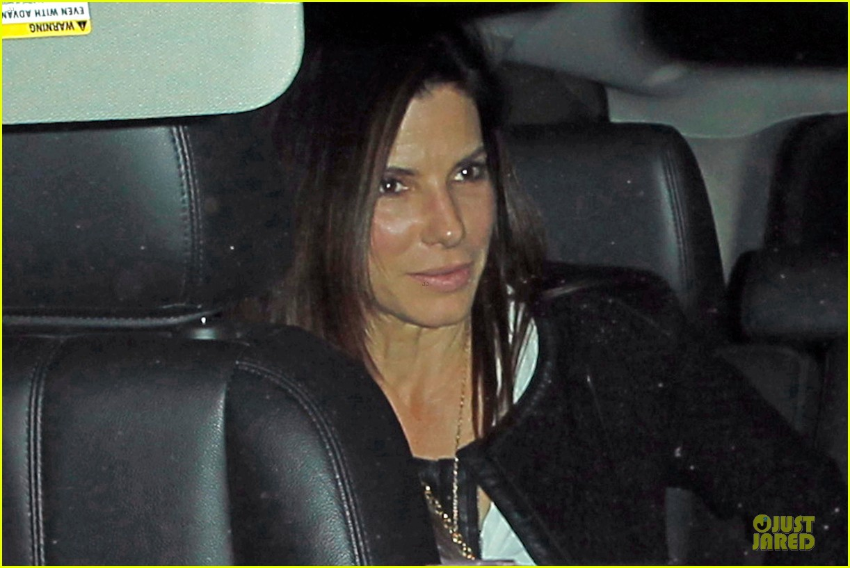 sandra bullock shopping with mystery man after golden globes 143031626