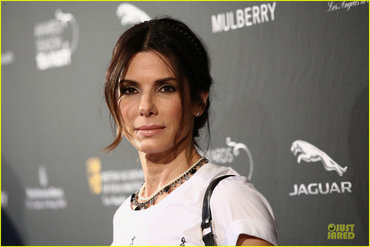 sandra bullock benedict cumberbatch bafta tea party 2014 153028124