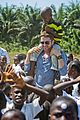 gerard butler visits liberia with marys meals all the photos 36