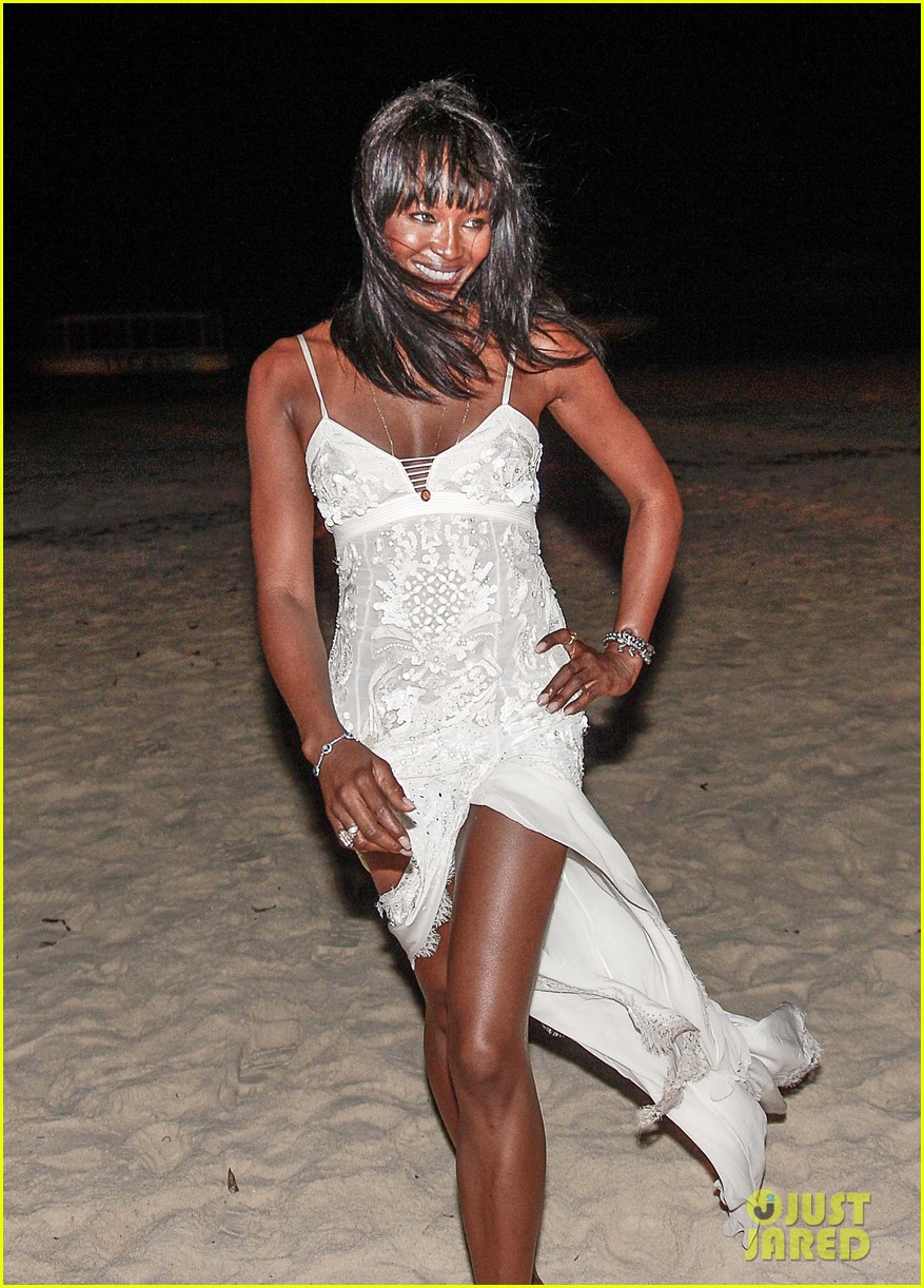 naomi campbell new years eve on the beach in kenya 163021285
