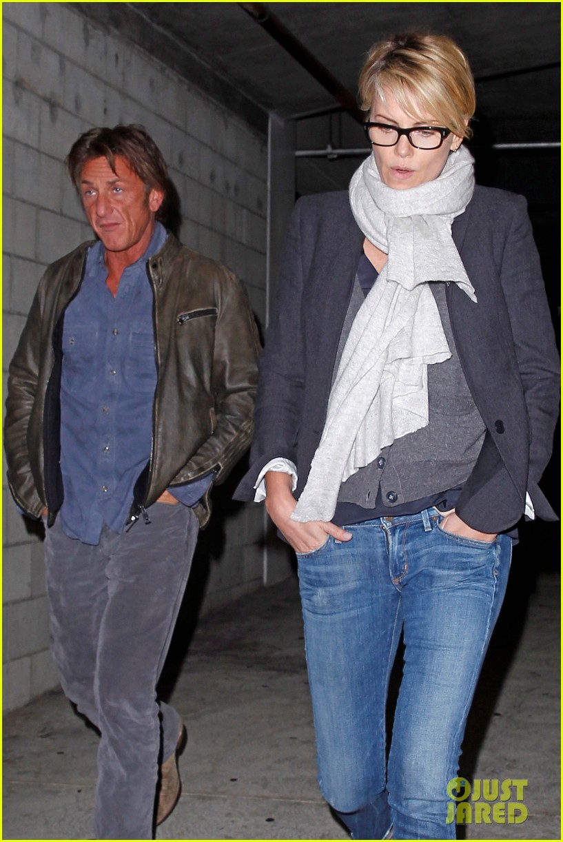charlize theron sean penn movie date night 163024575