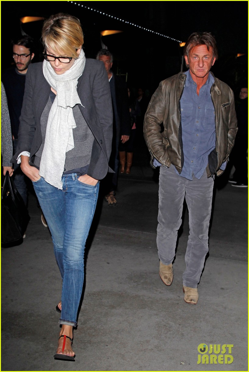 charlize theron sean penn movie date night 213024580