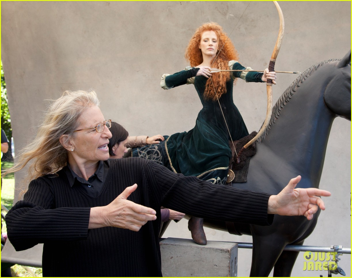 jessica chastain princess merida for disney dream portrai 013026176