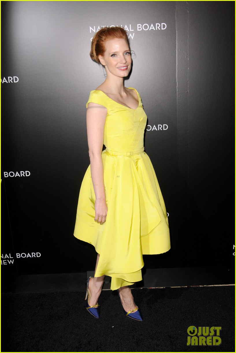 jessica chastain national board of review awards gala 2014 033024824