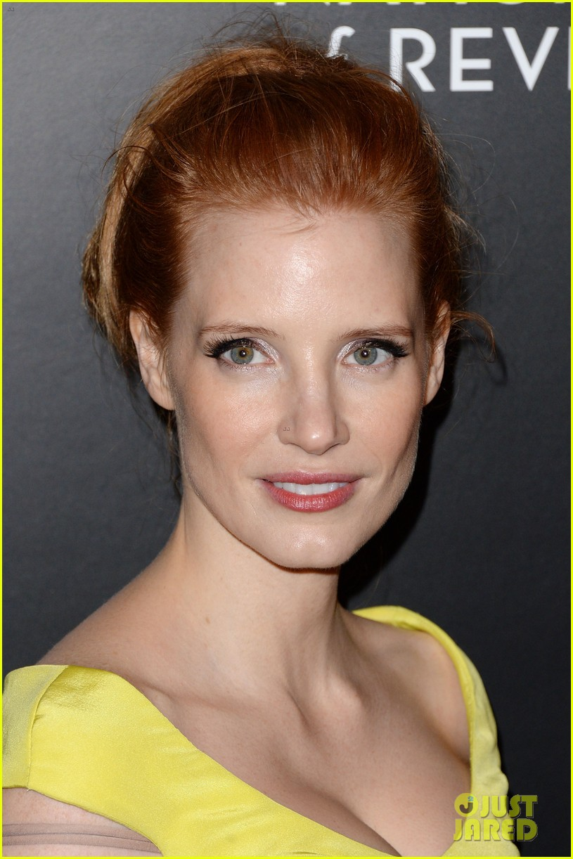 jessica chastain national board of review awards gala 2014 06