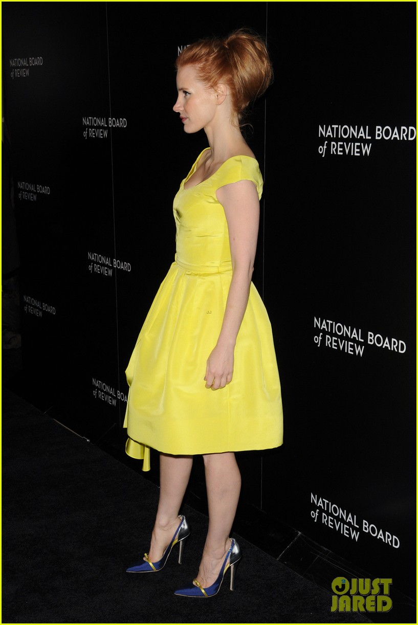 jessica chastain national board of review awards gala 2014 113024832