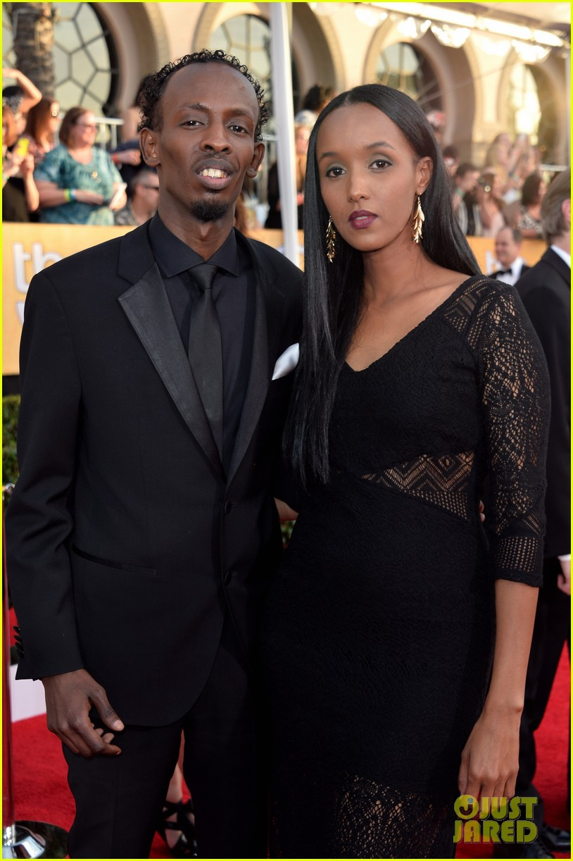 chiwetel ejiofor barkhad abdi sag awards 2014 red carpet 083034854