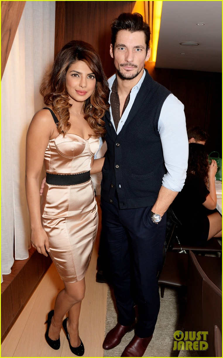 priyanka chopra guess vip dinner with david gandy 013036699