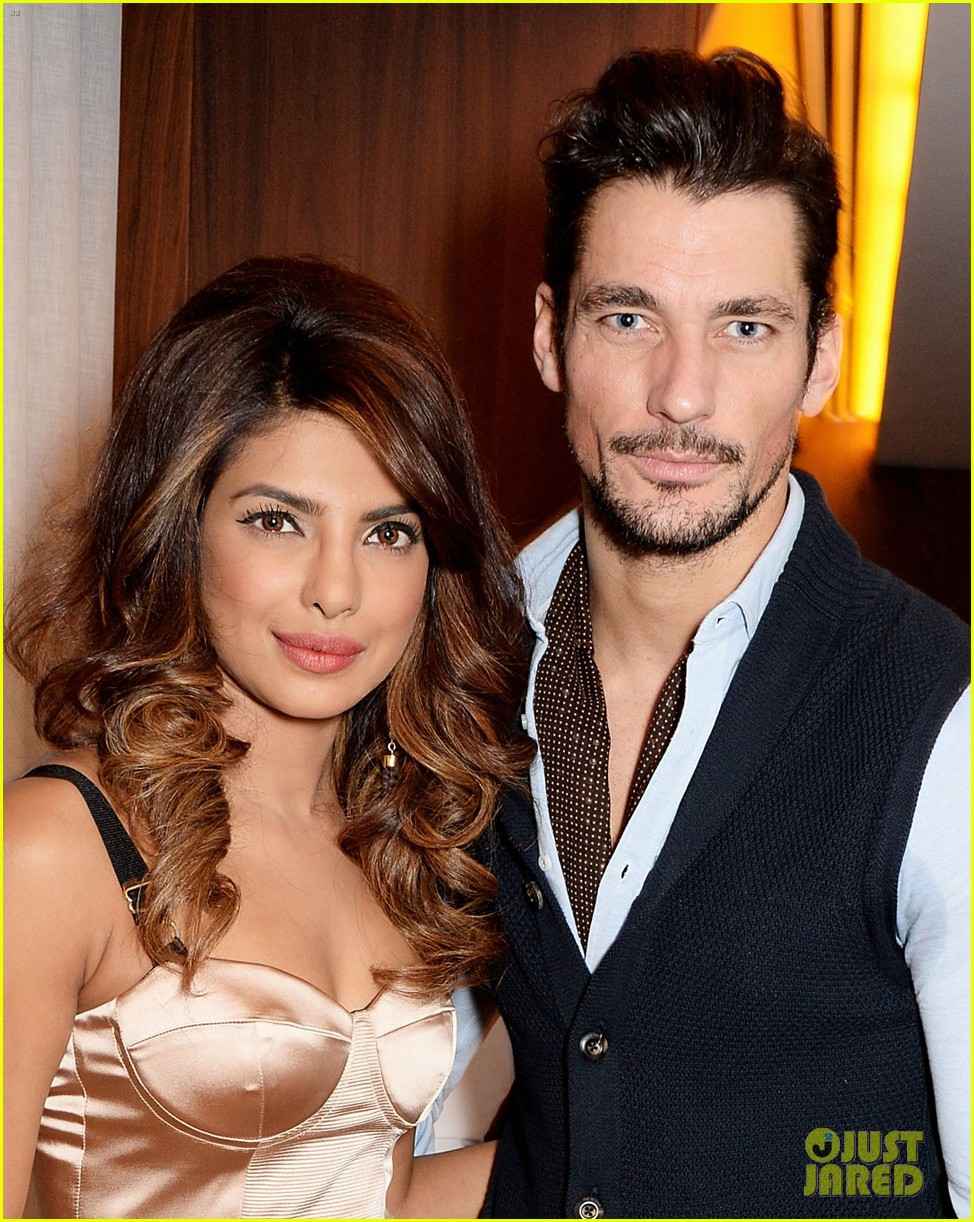 priyanka chopra guess vip dinner with david gandy 04