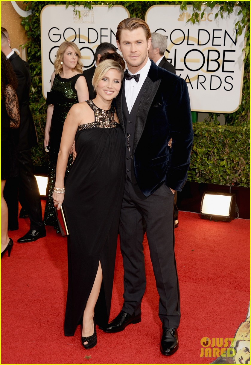 chris hemsworth elsa pataky golden globes 2014 red carpet 01