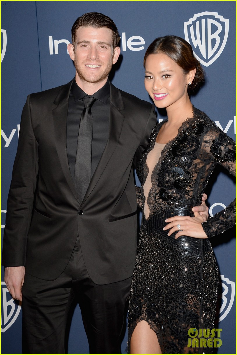 jamie chung bryan greenberg instyle golden globes party 2014 063030261