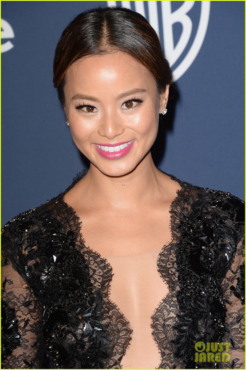 jamie chung bryan greenberg instyle golden globes party 2014 083030263
