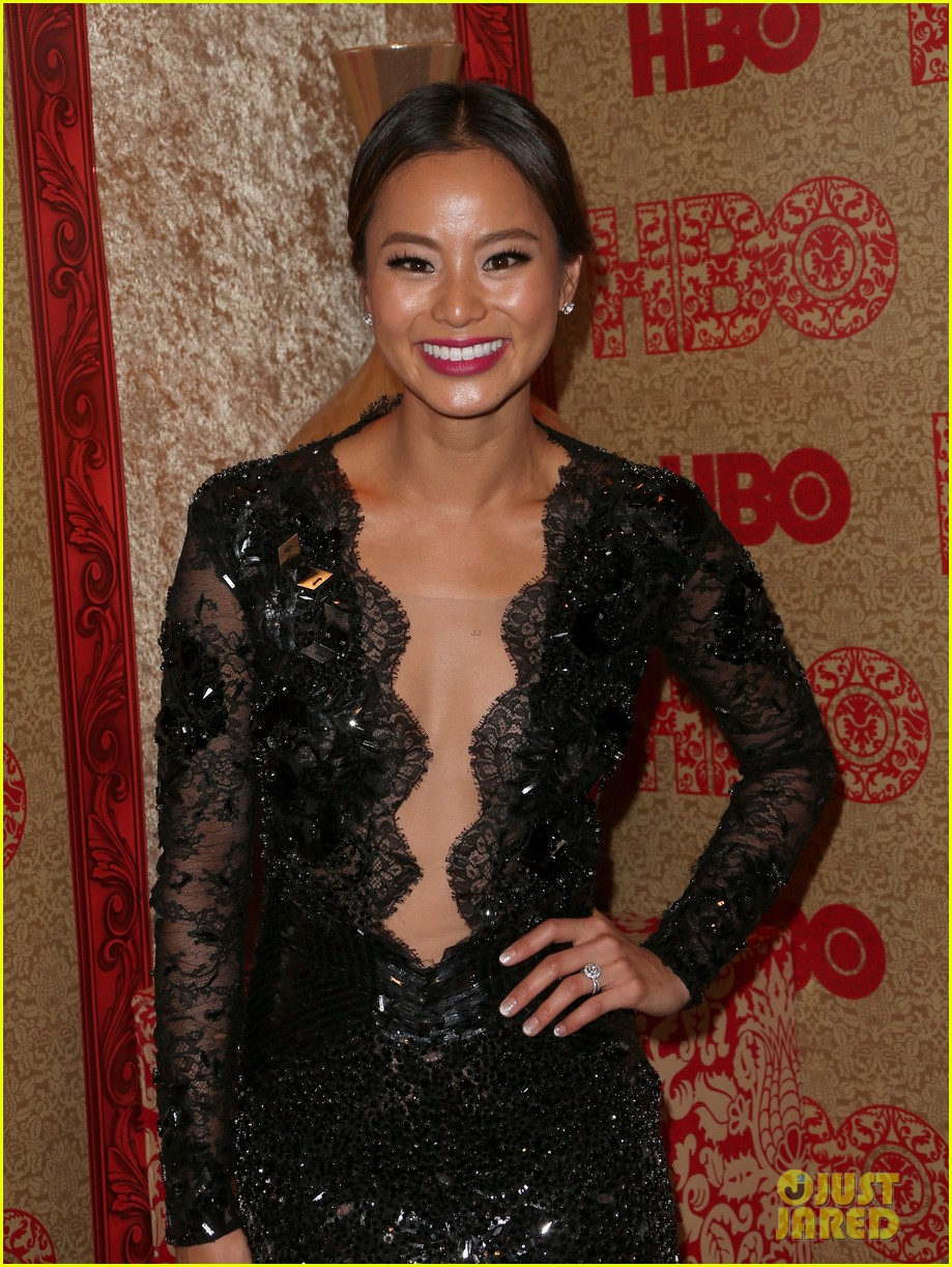 jamie chung bryan greenberg instyle golden globes party 2014 123030267
