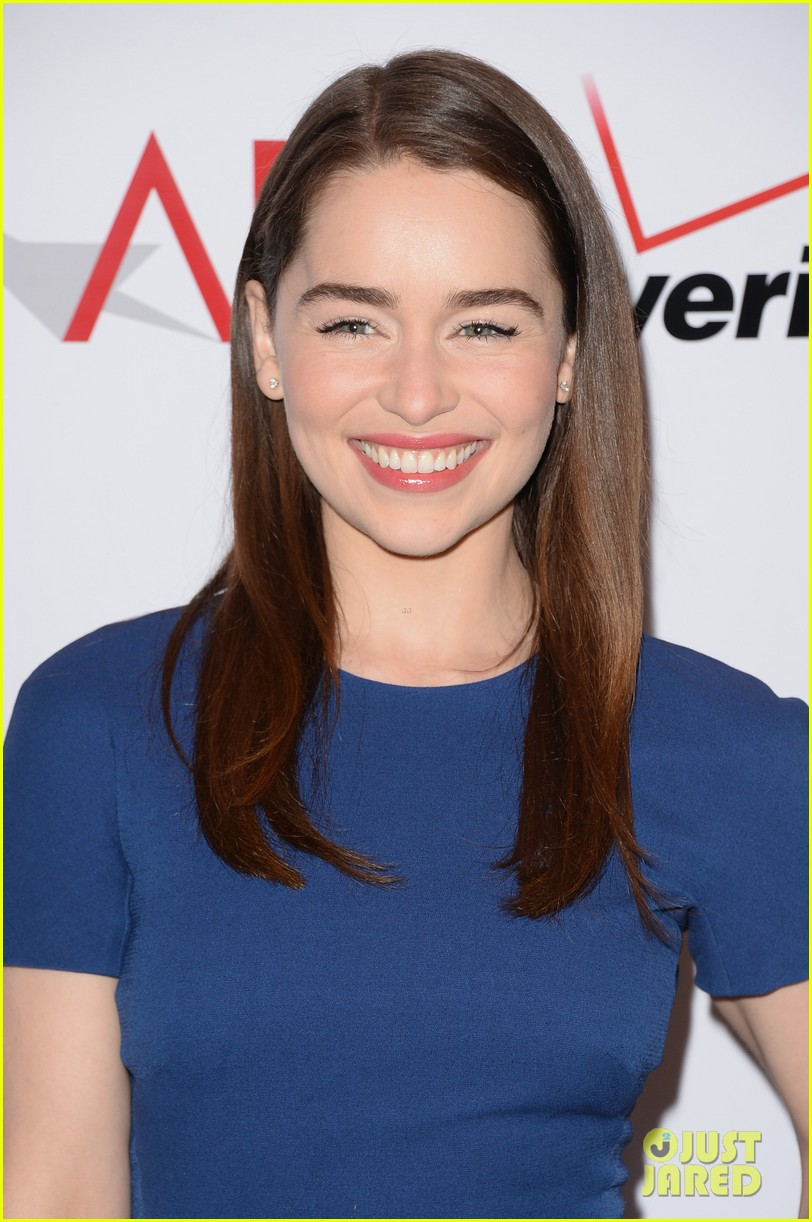emilia clarke maisie williams afi film festival luncheon 2014 043027210