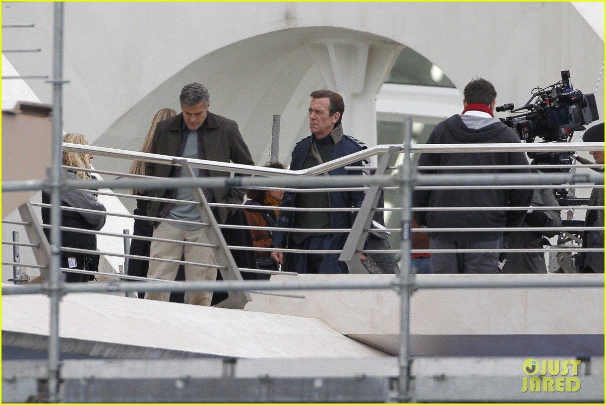 george clooney begins filming tomorrowland in spain 053036925