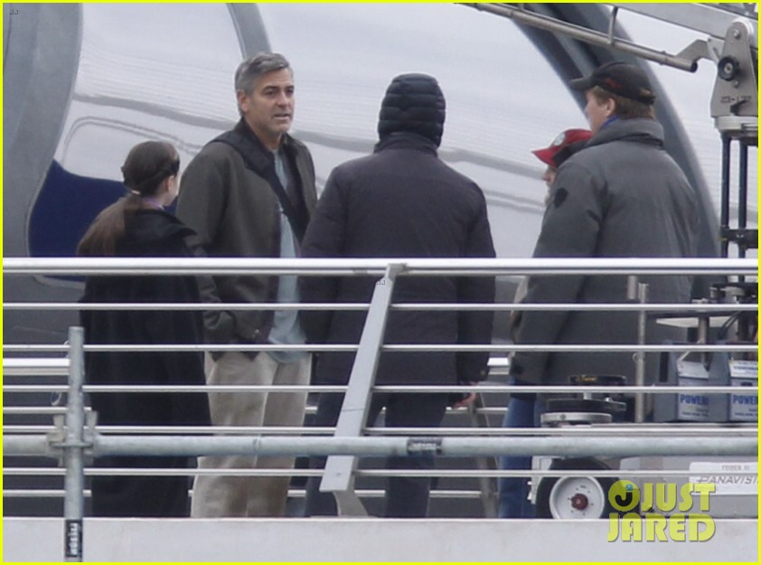 george clooney begins filming tomorrowland in spain 123036932