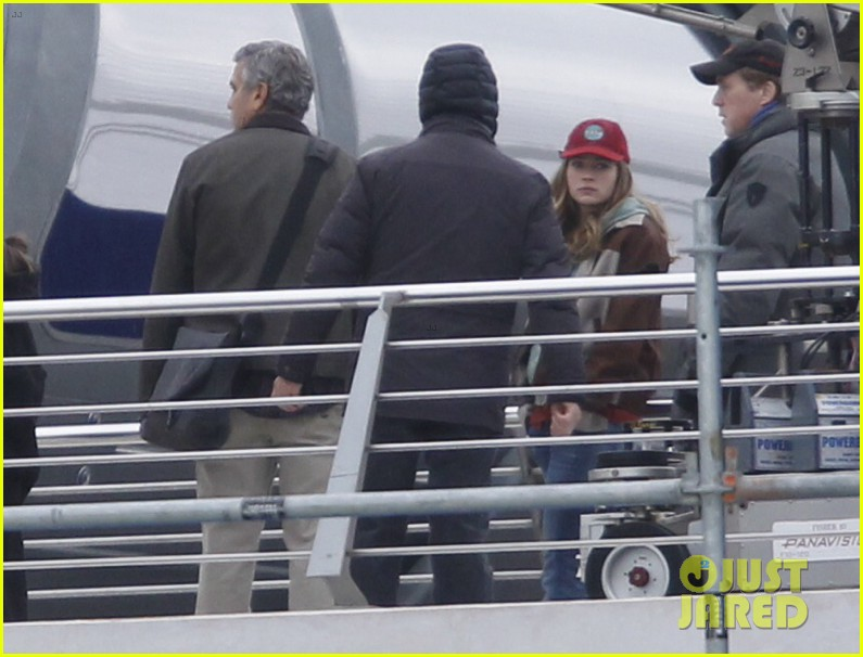 george clooney begins filming tomorrowland in spain 153036935