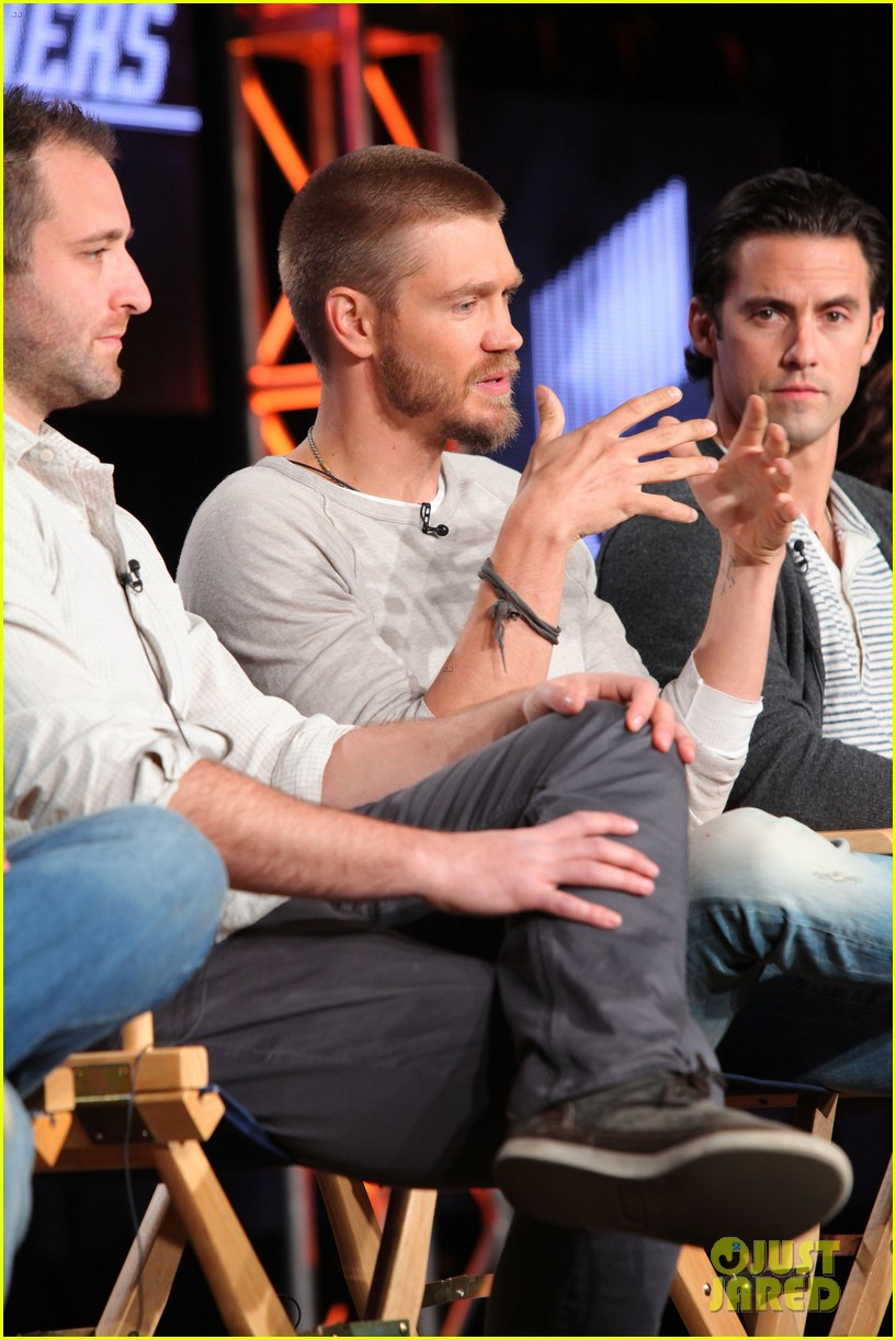chad michael murray nicky whelan golden globes 2014 043030099