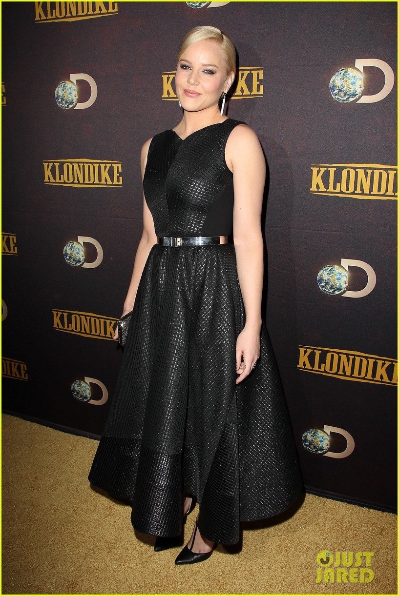 abbie cornish richard madden klondike new york premiere 253033219