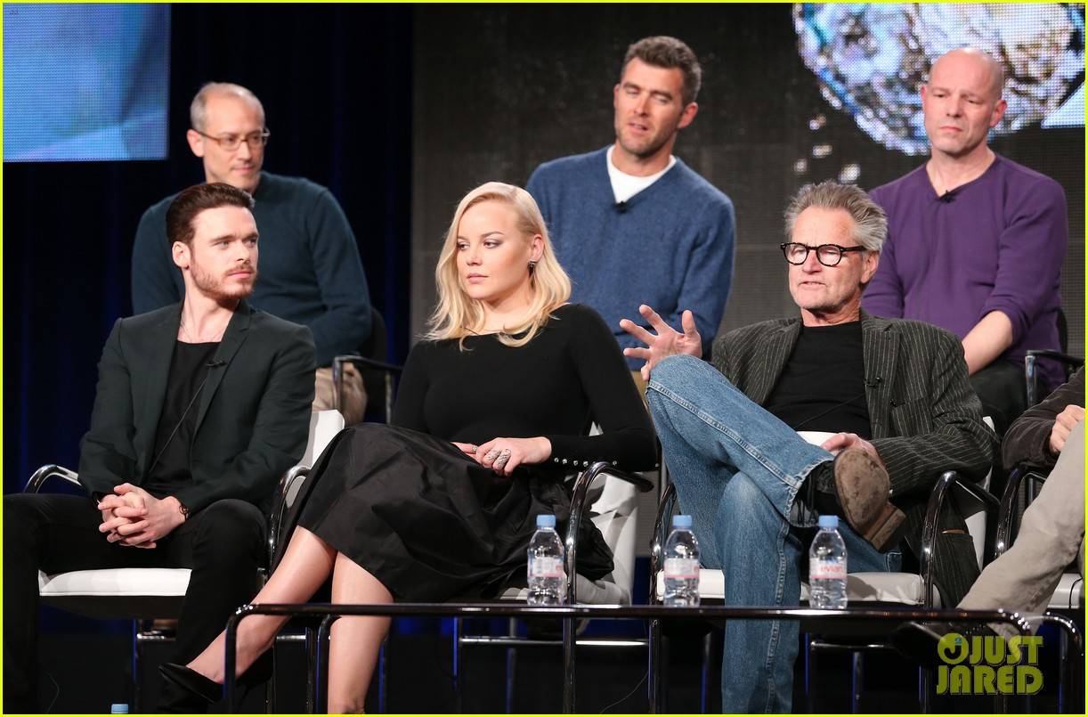 abbie cornish richard madden klondike tca panel 143026537