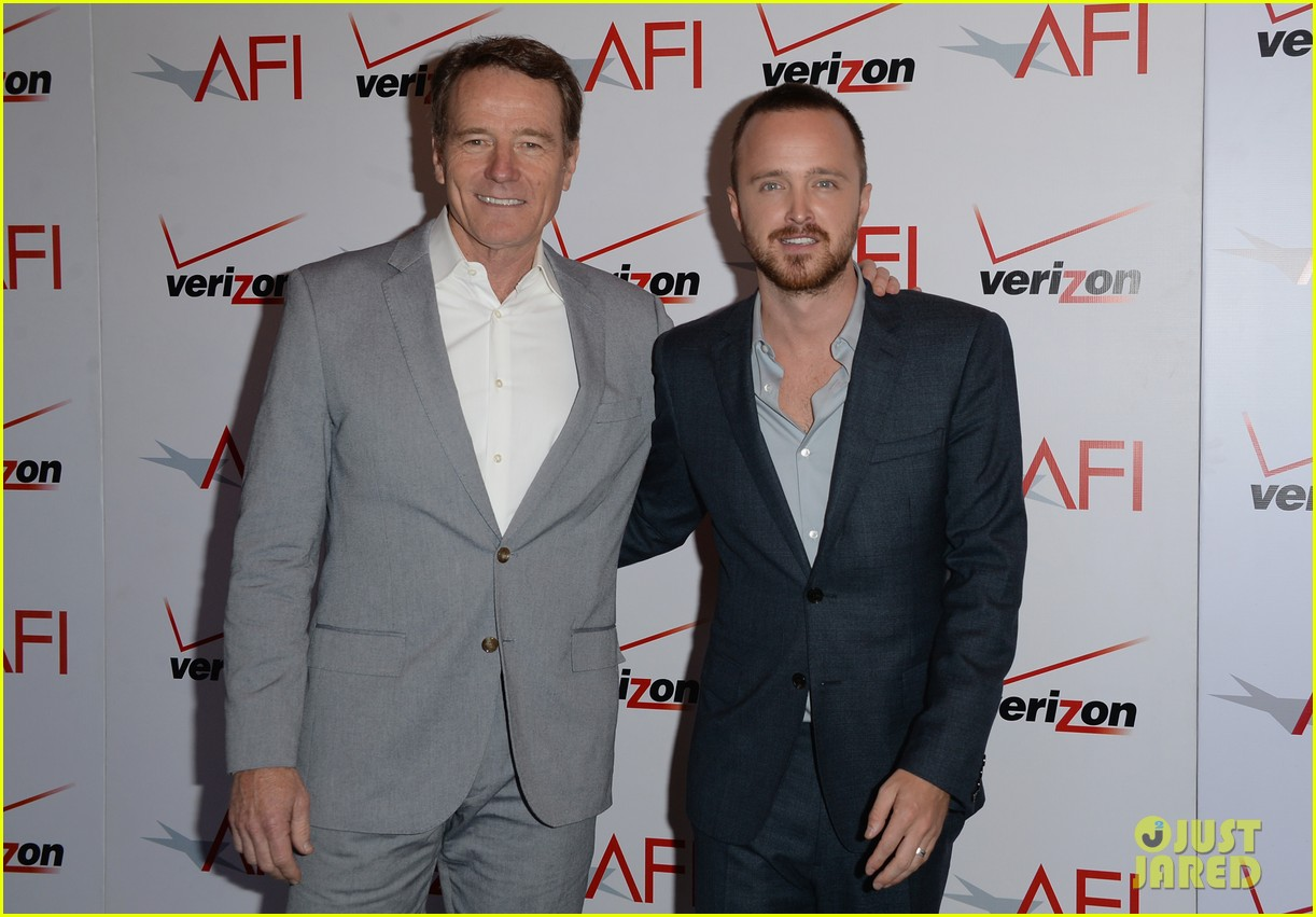 aaron paul bryan cranston afi awards luncheon 2014 093027297