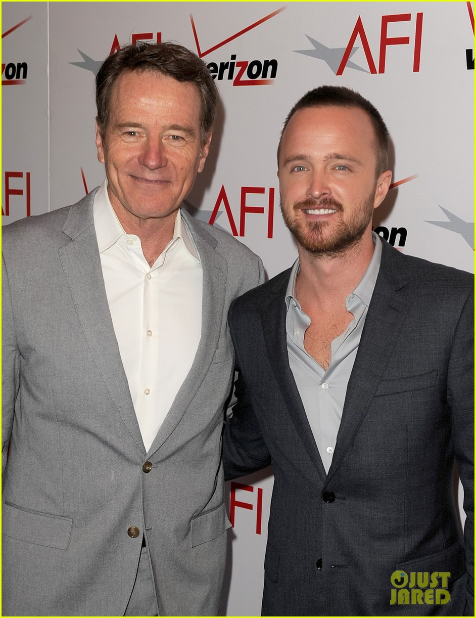 aaron paul bryan cranston afi awards luncheon 2014 113027299