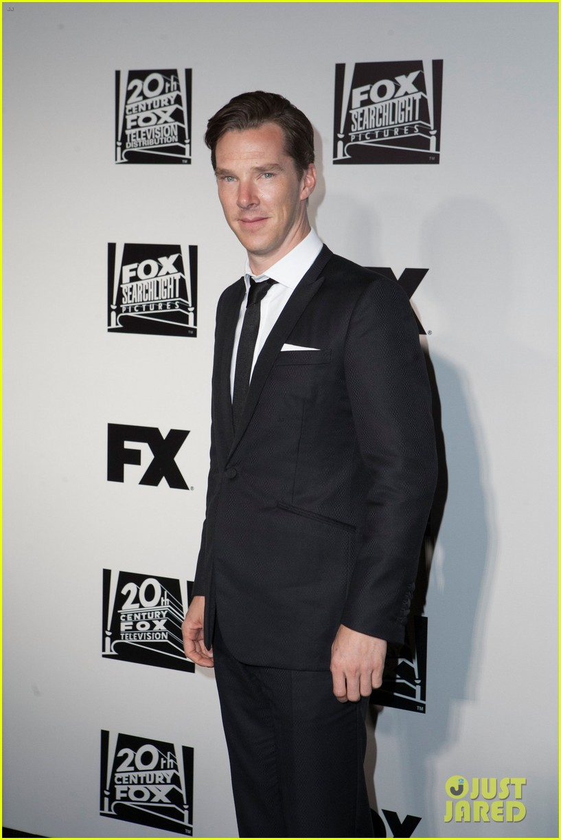 benedict cumberbatch fox golden globes party 2014 07