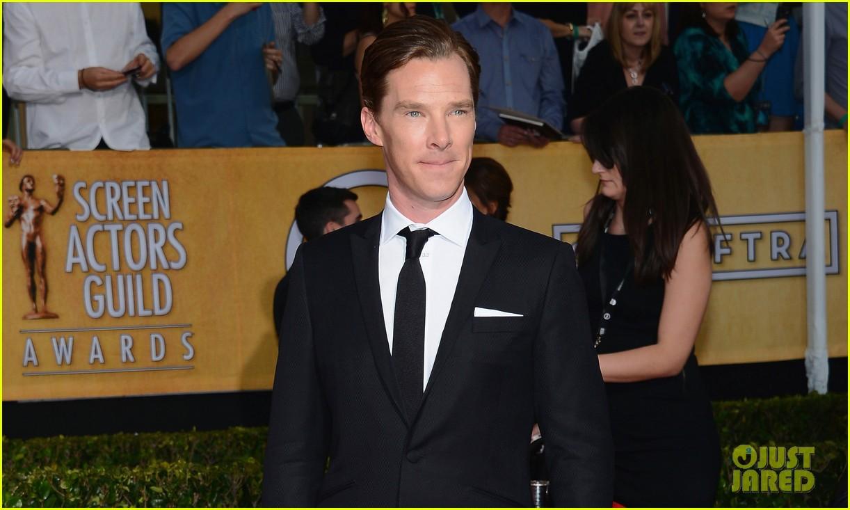 benedict cumberbatch sag awards 2014 red carpet 023034816