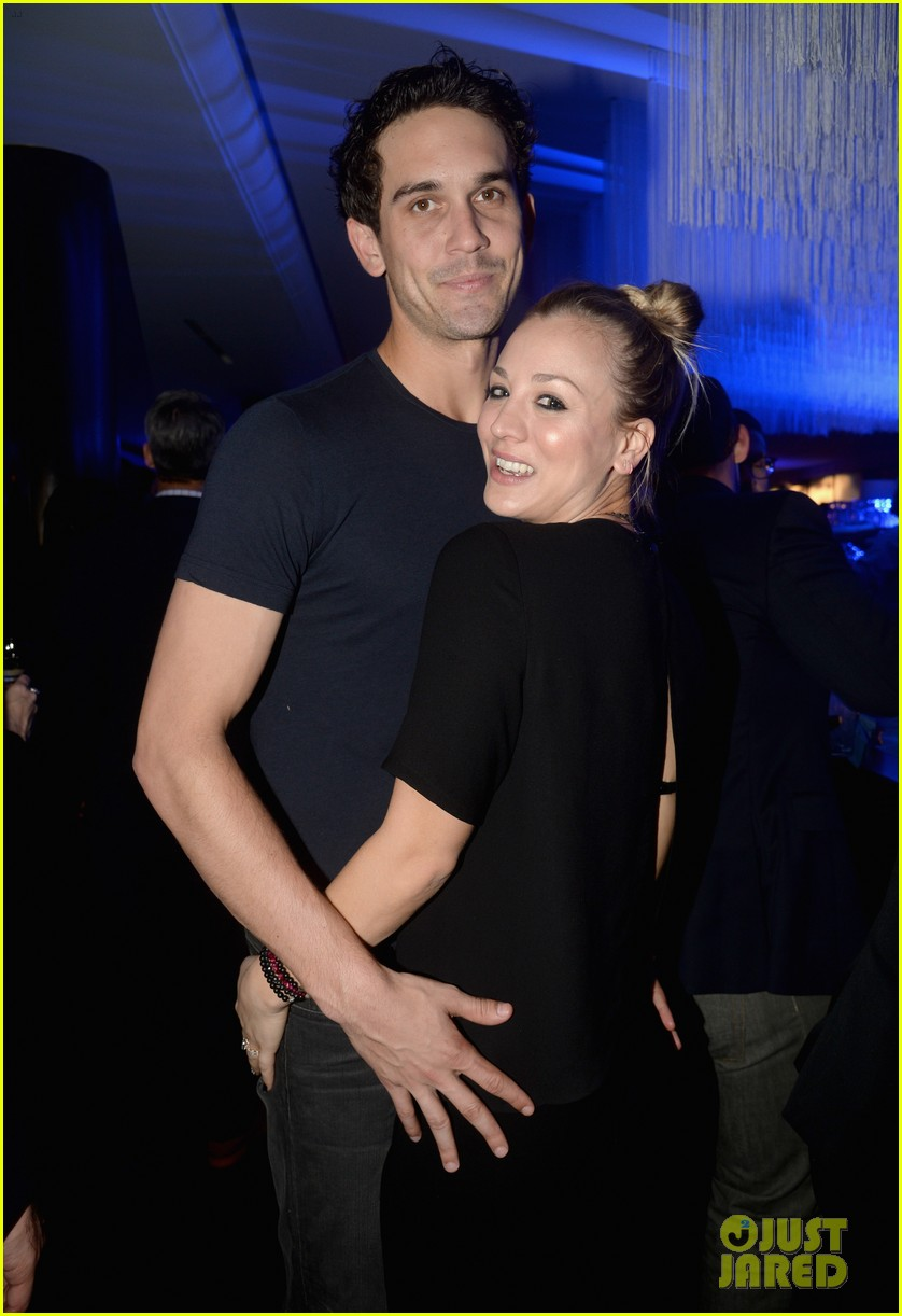 kaley cuoco ryan sweeting delta airlines pre grammy party 173039165