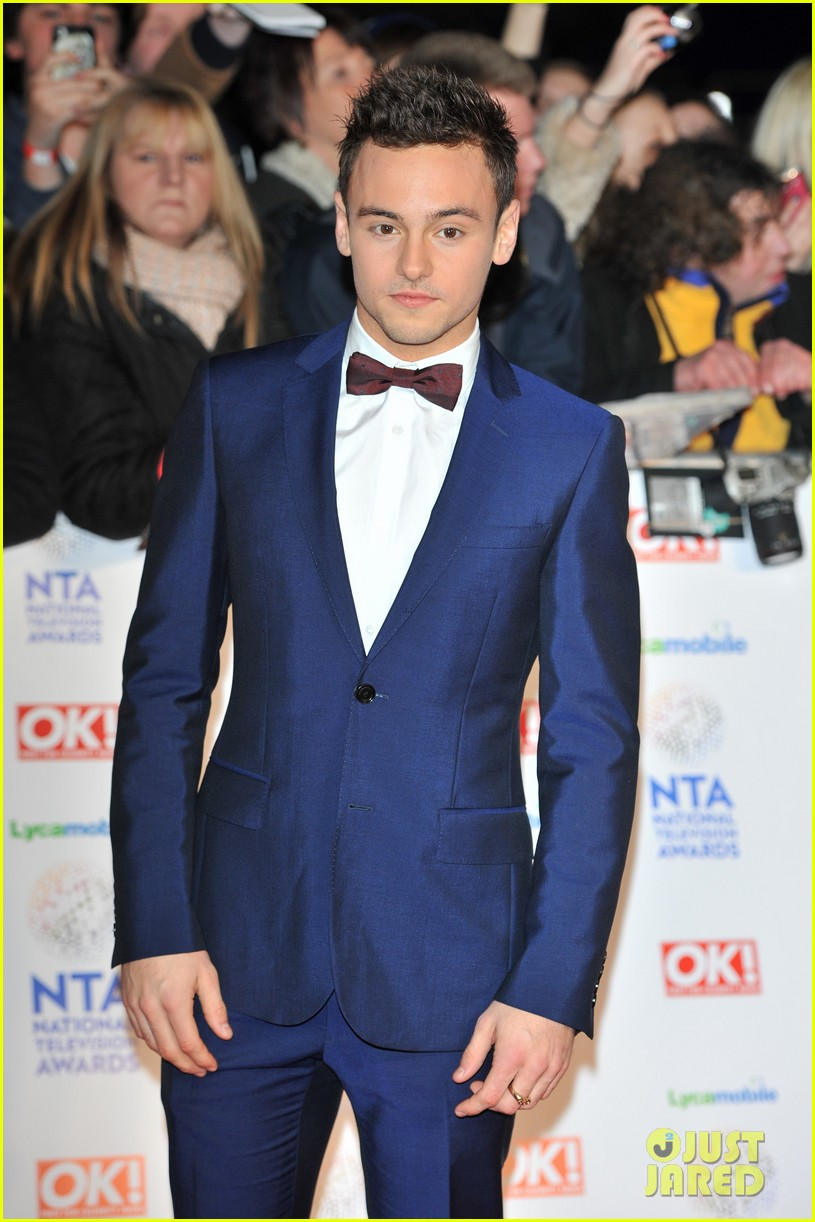 tom daley naomi campbell national television awards 2014 01