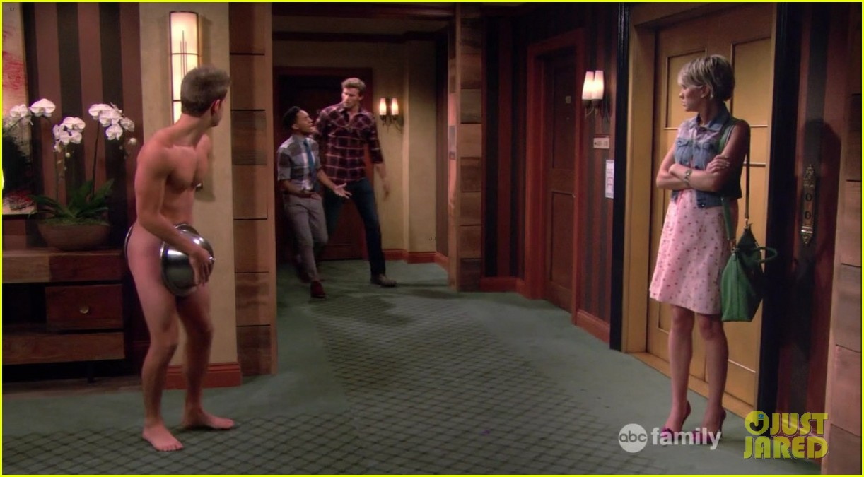 matt dallas goes shirtless on baby daddy 193044633