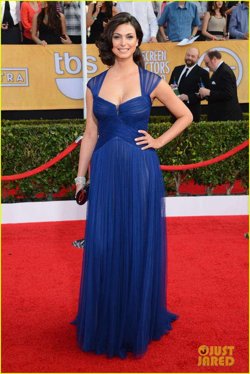 damien lewis morena baccarin sag awards 2014 red carpet 053034766