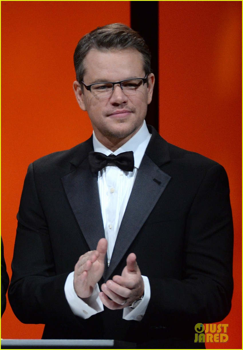 matt damon kristin chenoweth unicef ball 2014 053031658