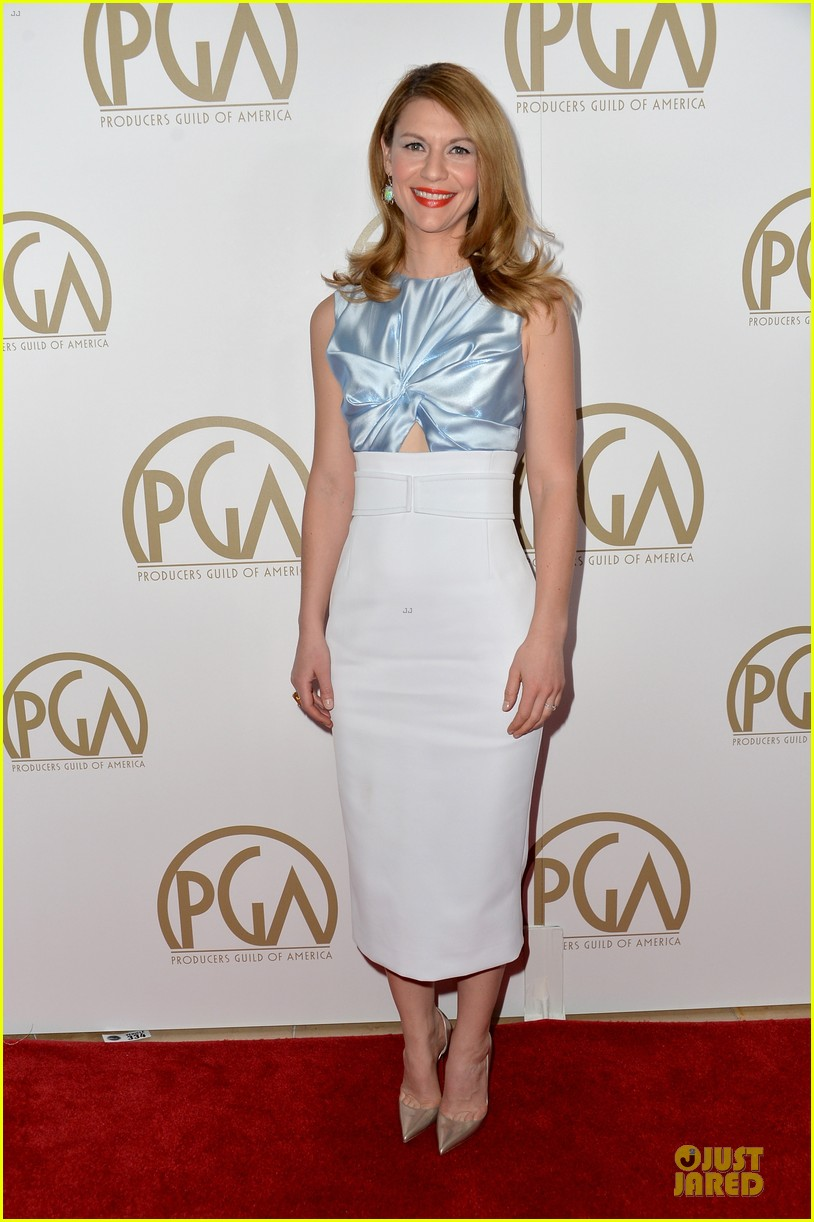 claire danes hugh darcy producers guild awards 2014 013035854