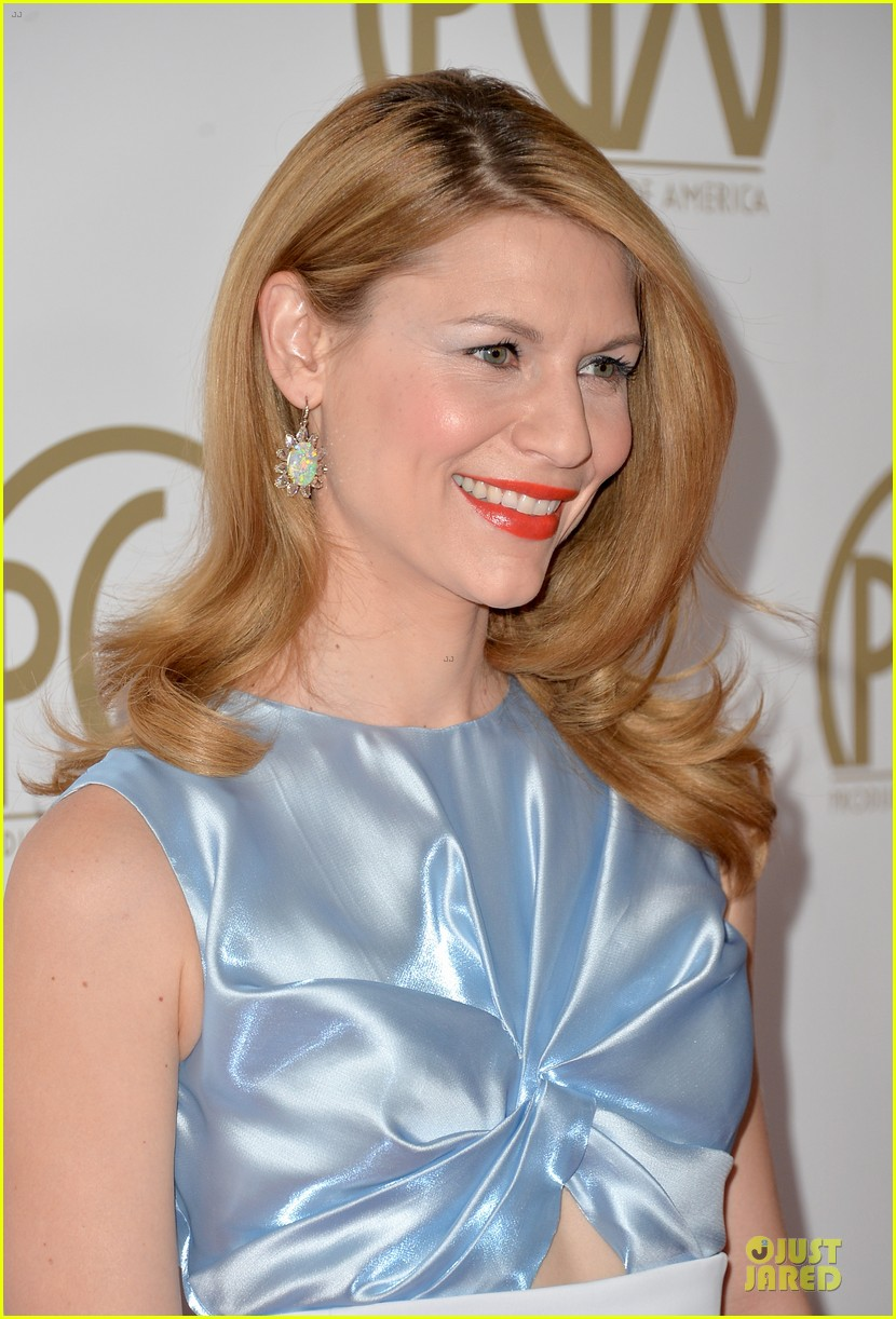 claire danes hugh darcy producers guild awards 2014 073035860