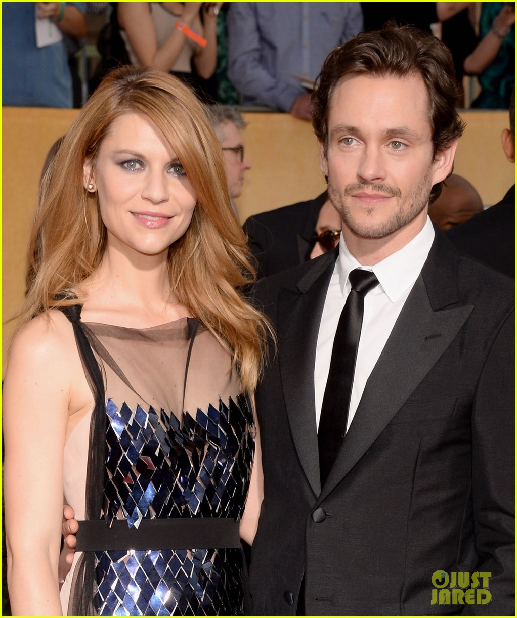 claire danes sag awards 2014 red carpet with hugh dancy 023034780