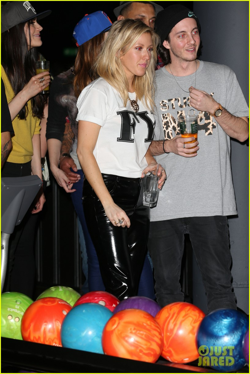 cara delevingne ellie goulding brooklyn bowl launch party 083033421